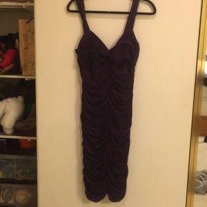 Tadashi Evening Dress in Deep Purple